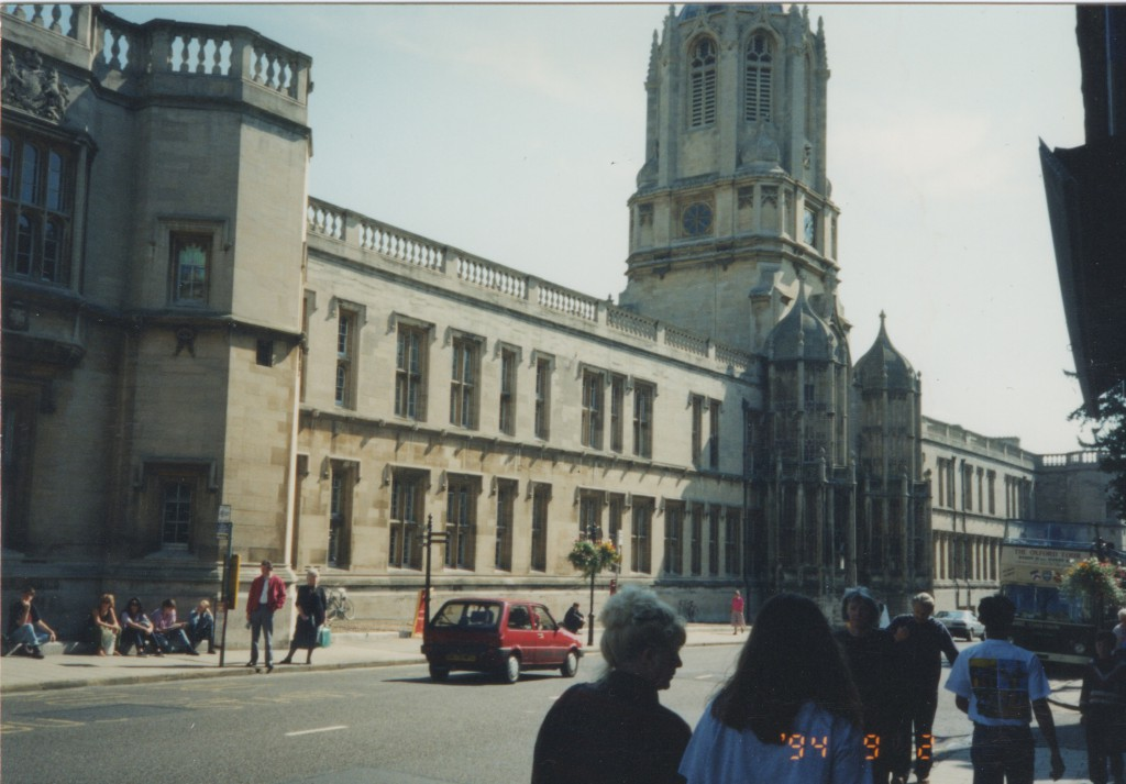 Christ Church College, Oxford 1994. Entrance