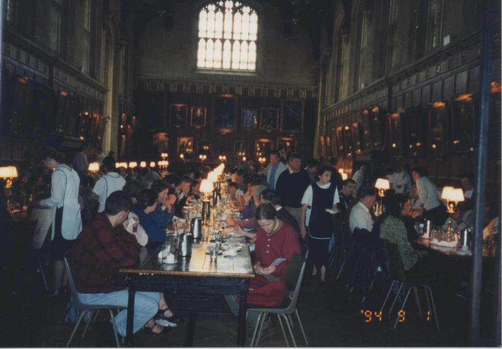 Christ Church College, Oxford. Dining Hall