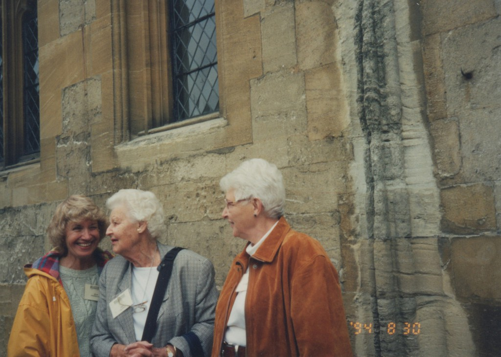 L to R - Joan Stephenson (Journal Editor), Jane W. Pearce, Margaret H. Johnson