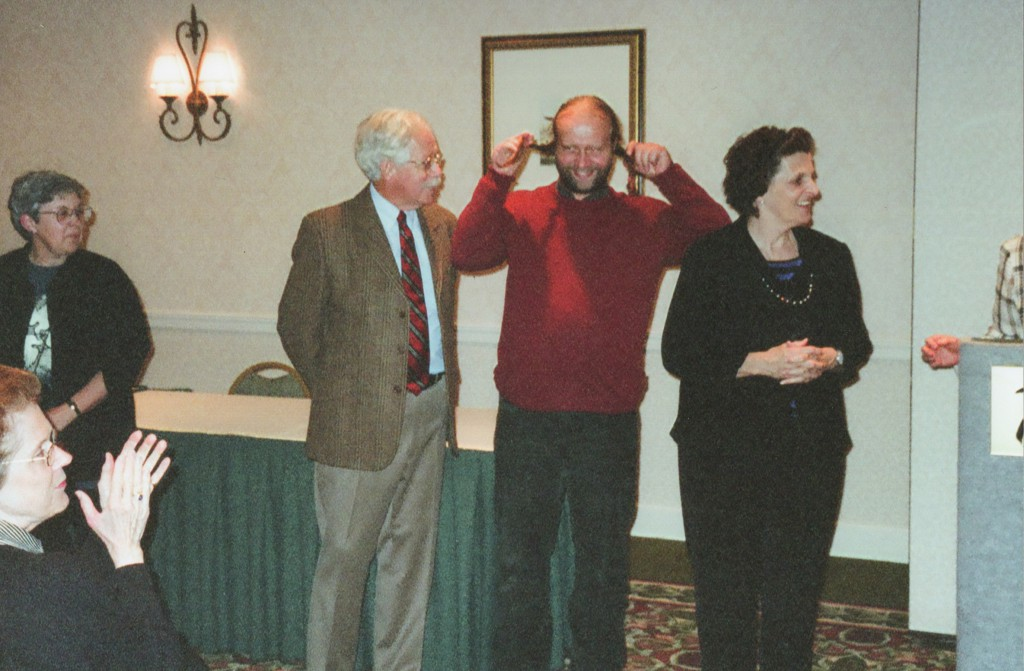 Neff, Vnoucek, and Moore (Mary Schlosser lower left)