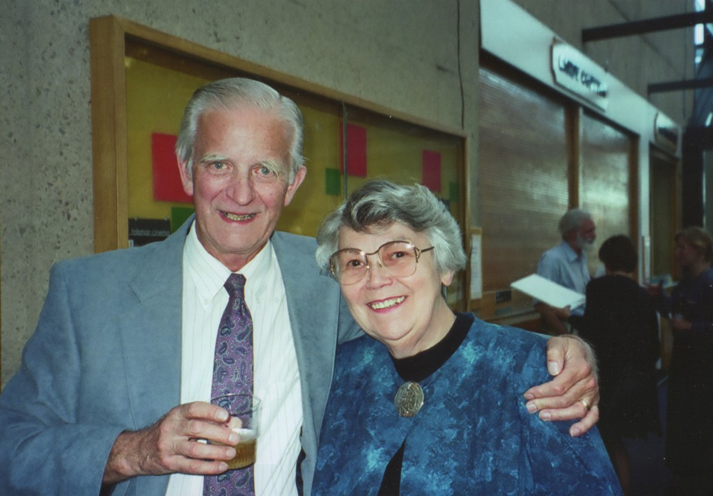 Peter and Sheila Waters