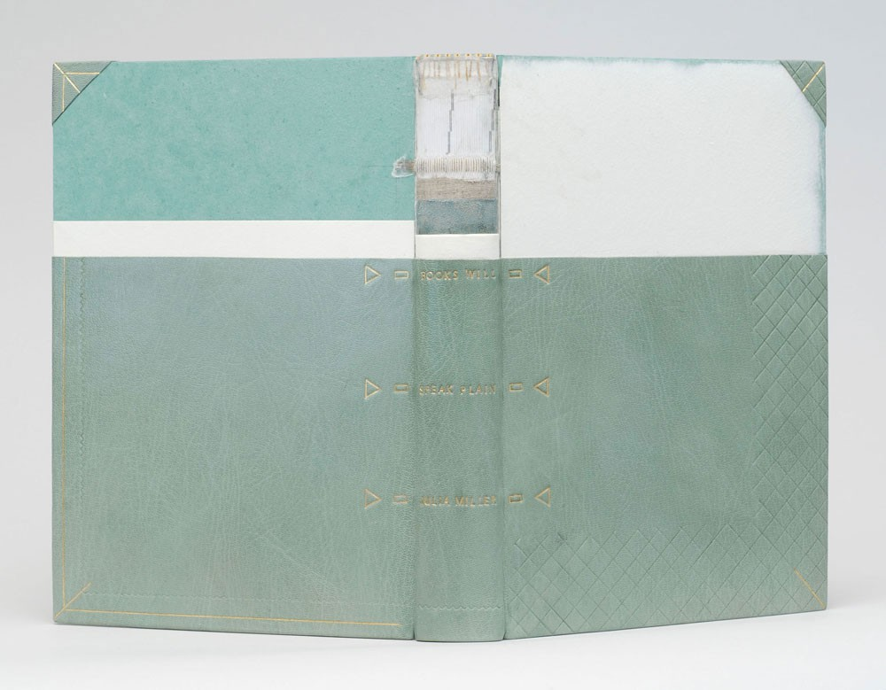 Books Will Speak Plain: A Handbook for Identifying and Describing Historical Bindings | bound by artist in 2013. Julia Miller, The Legacy Press, Ann Arbor, MI, 2010