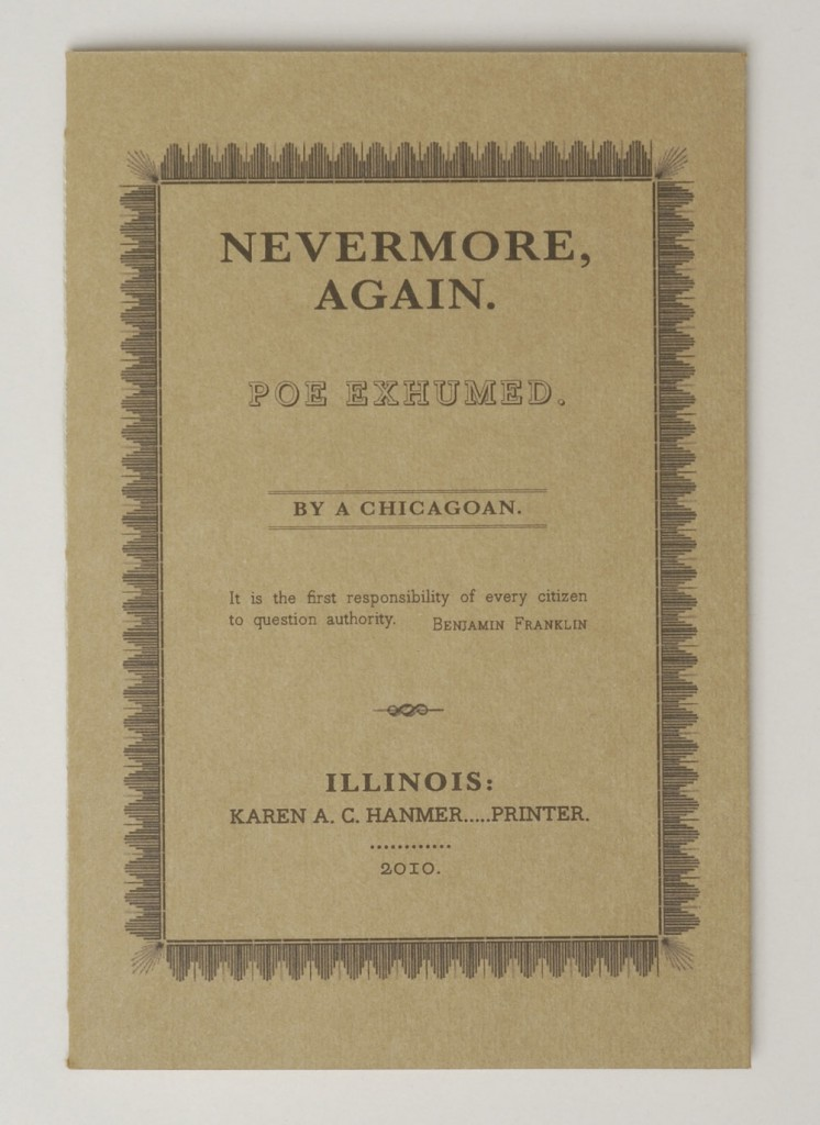 Nevermore Again: Poe Exhumed | 2010